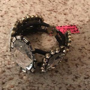 NWT Betsy Johnson Victorian cuff bracelet